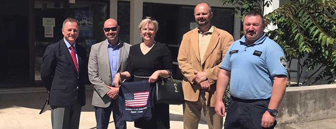 Embassy's Dubrovačko-Neretvanska County MeetUS team