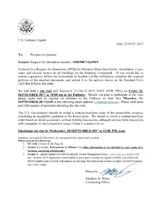 Solicitation Shr900q170019 Meternet Installation U S Embassy In Croatia