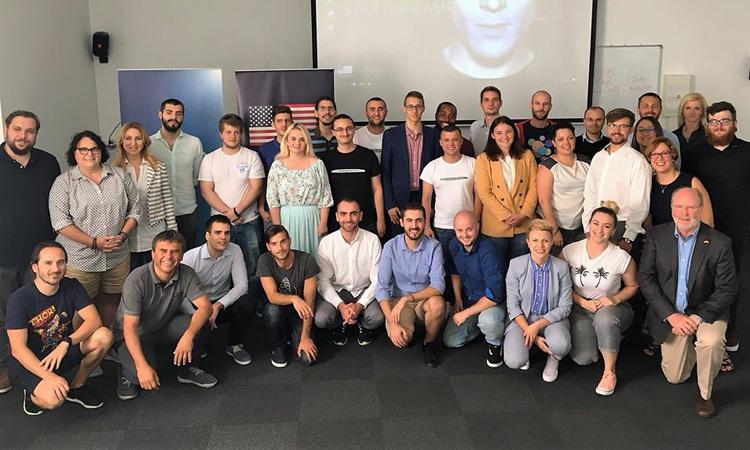 Ambassador Kohorst Visits Startup Camp Rijeka (State Dept.)