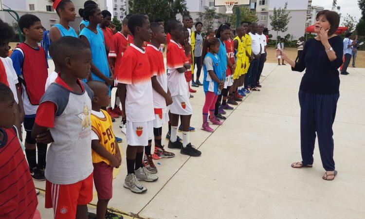 Angolan Basketball Stars