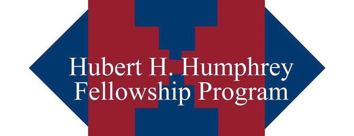 Abertura do programa  Hubert H Humphrey Fellowship ano académico 2021-2022