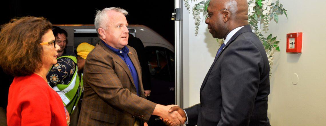 The US Deputy Secretary of State John J. Sullivan has arrived in Angola