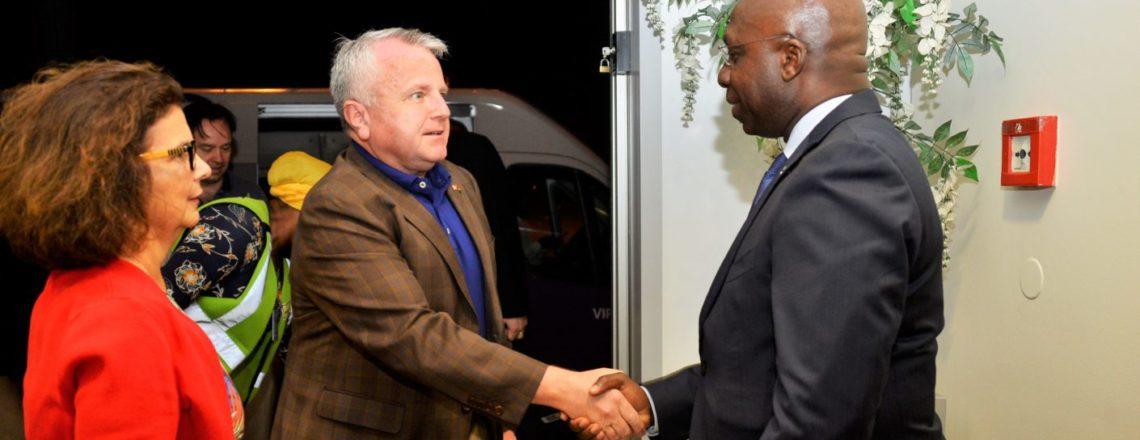 Secretário de Estado Adjunto dos EUA, John J. Sullivan chegou a Angola