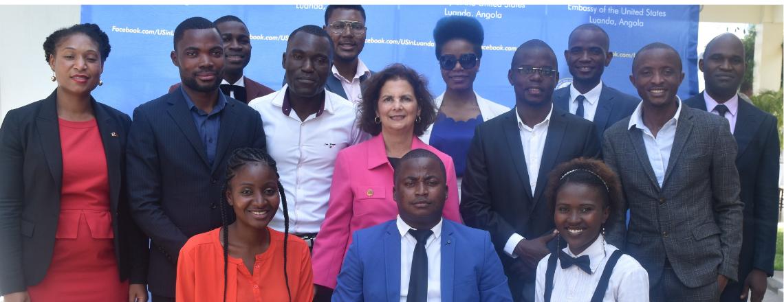 The U.S Embassy in Angola presented the Mandela Washington fellowship 2019 winners