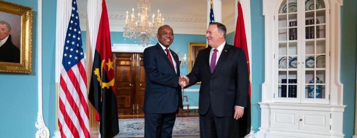 EUA saúdam as reformas que consideram ousadas que o Presidente João Lourenço