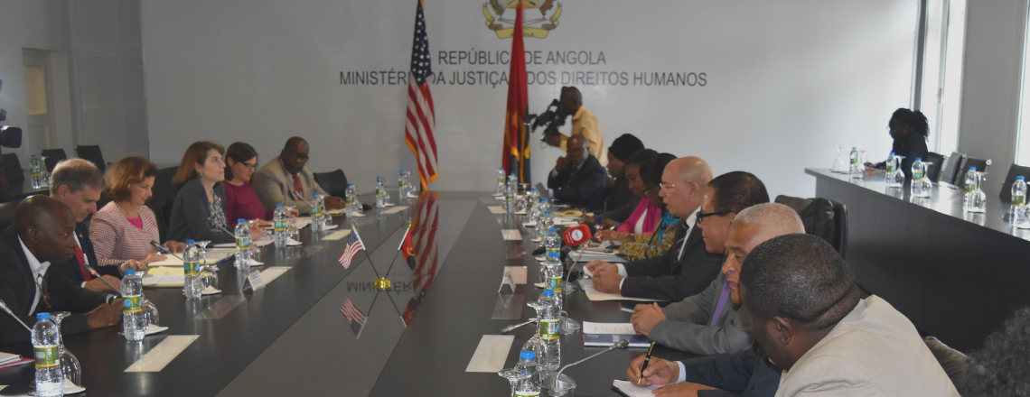 The Republic of Angola and the USA agree to promote Human Rights