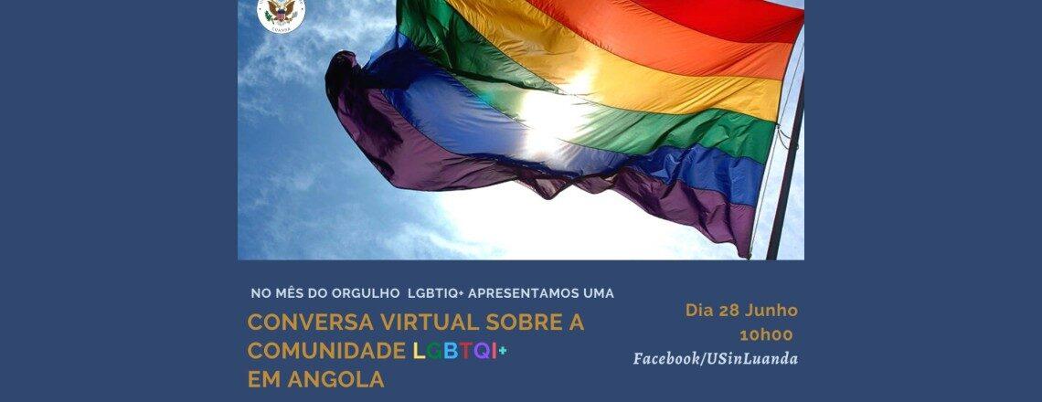 A Embaixada dos EUA em Luanda vai transmitir no facebook uma conversa virtual sobre  LGBT