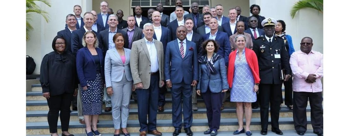Delegation of US Defense Ministry Senior Officers to Angola
