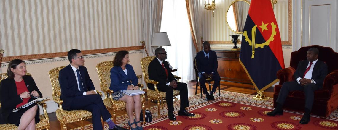 Assistente Especial do Presidente Donald Trump efectuou uma vista de 3 dias a Angola