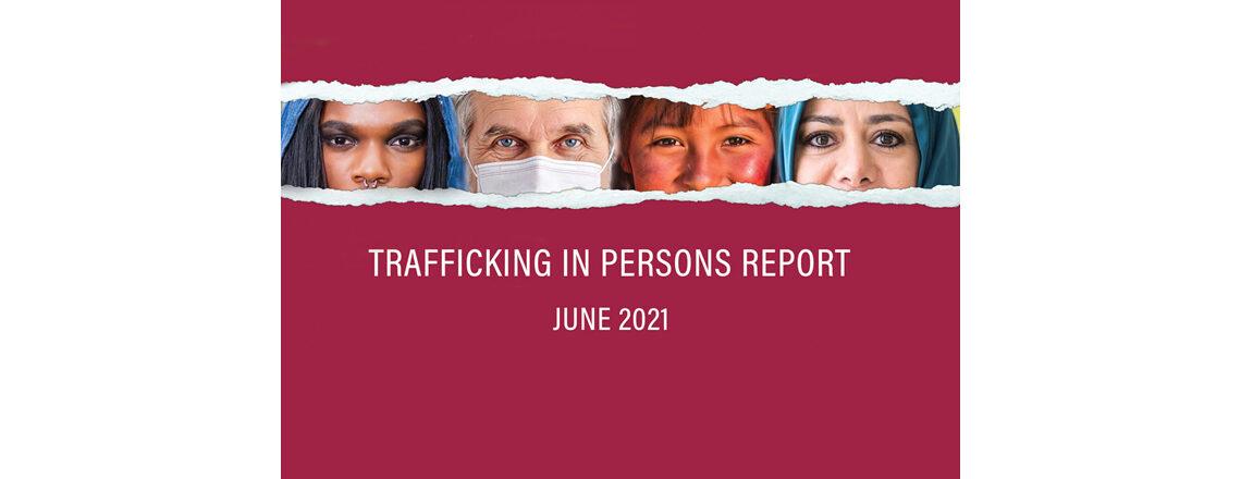 Relatório de tráfico de pessoas 2021