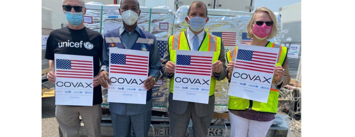 Governo dos EUA Doa 464.090 Doses Adicionais da Vacina Pfizer contra a COVID-19 a Angola