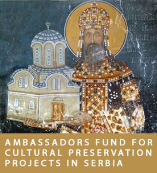 AFCP banner - an old Serbian frescoes as an illustration