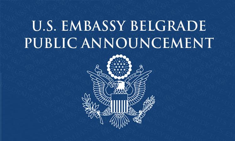 U S  Embassy in Serbia