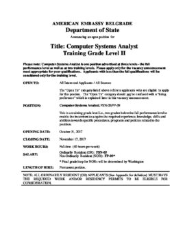 hr-2017-10-31-computer-systems-analyst-training-level-2 | U S