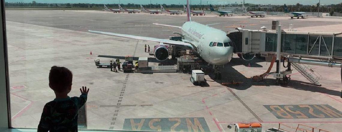 Evacuation flight to the United States