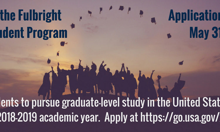 Apply for the Fulbright Foreign Student Program