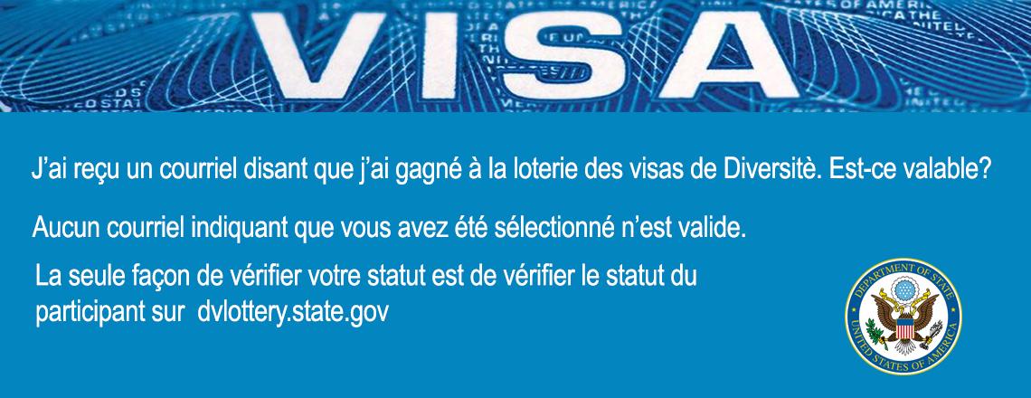 La sélection à la loterie des visas de Diversitè DV2020 commence aujourd'hui!