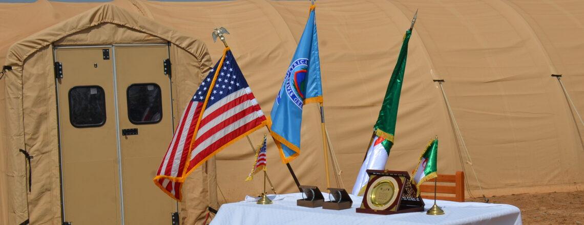 Les USA font don d'un hôpital de campagne pour aider l'Algérie à lutter contre la COVID19