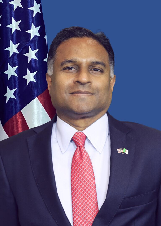 Photo of Chargé d'Affaires ad interim Gautam Rana