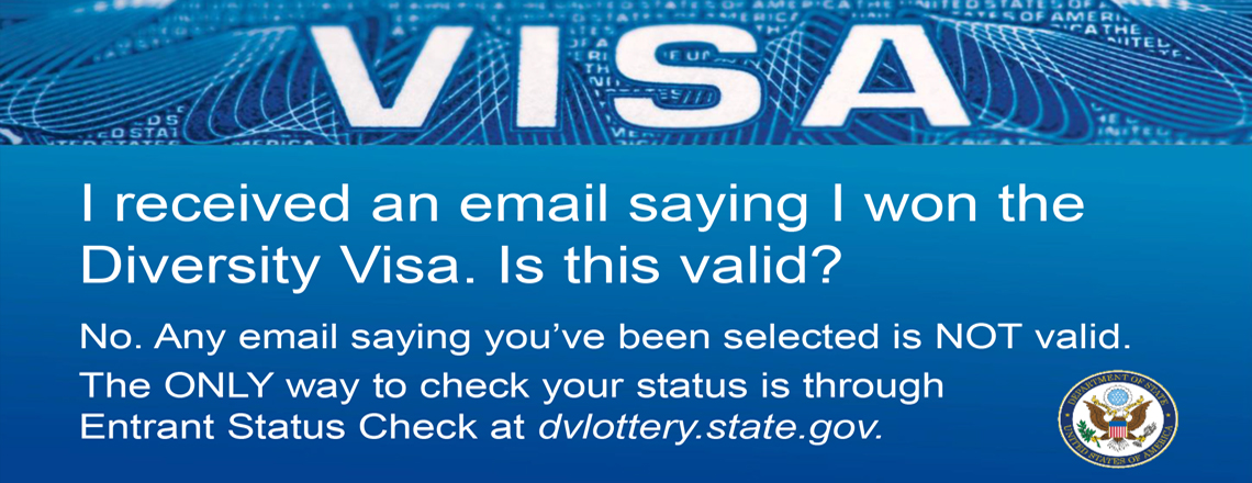 Diversity Visa DV2020 Selection starts today!