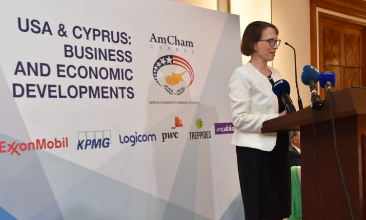 Remarks by Ambassador Judith Garber at the American Chamber of Commerce