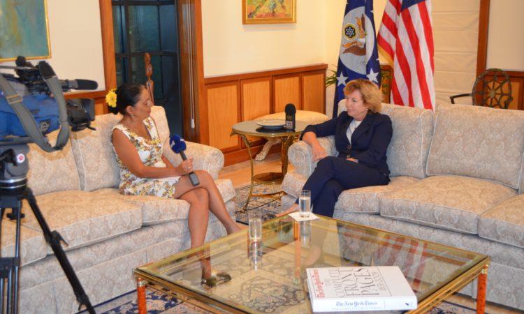 Ambassador Doherty's interview to Ant1 TV on September 11 - September 11, 2016