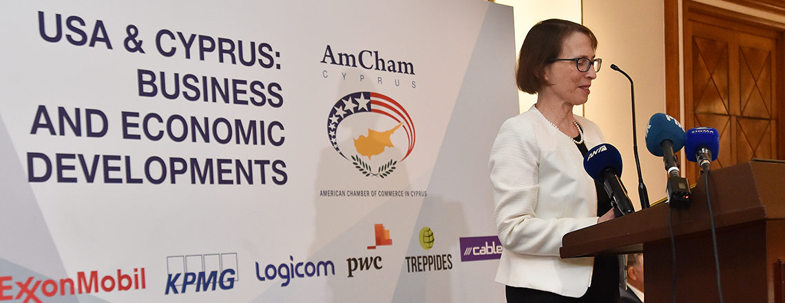Remarks by Ambassador Judith G. Garber at the American Chamber of Commerce