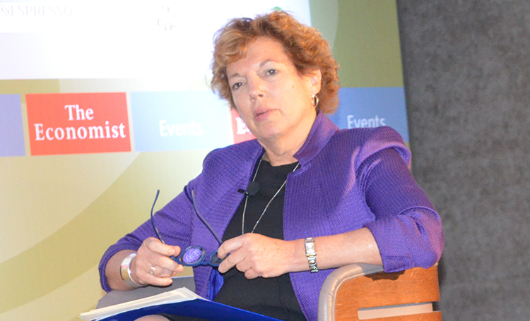 Ambassador Doherty speaking at the Economist Conference, November 2, 2017