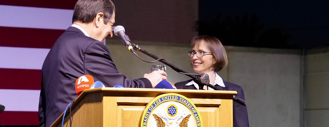 Remarks by Ambassador Judith G. Garber, Independence Day Reception