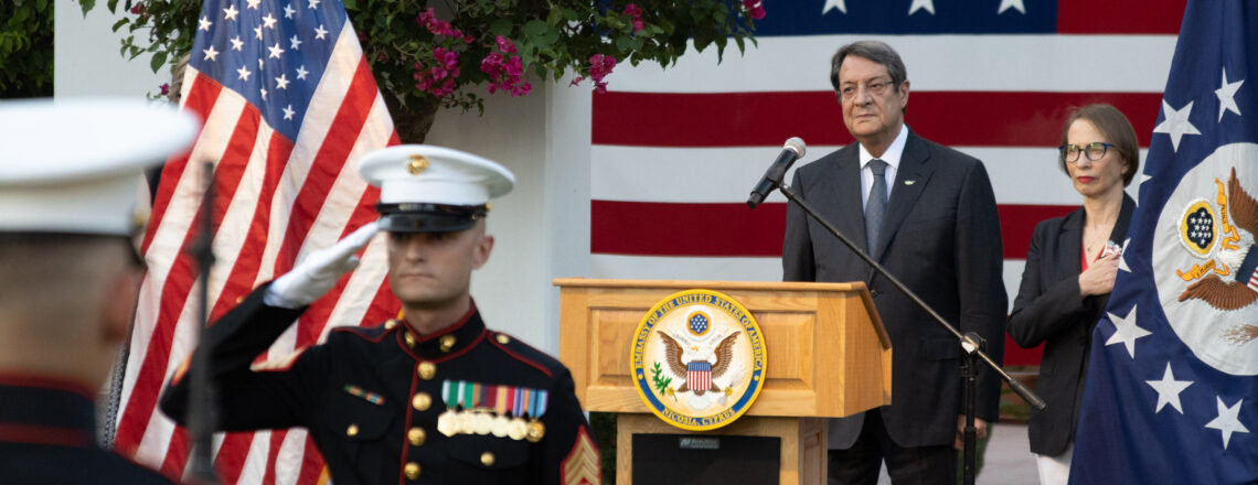 Amb. Garber's remarks – 245th Anniversary of America's Declaration of Independence