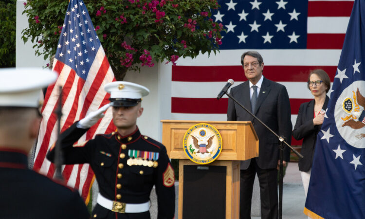Ambassador Judith Garber's remarks 245th Anniversary of America's Declaration of Independence