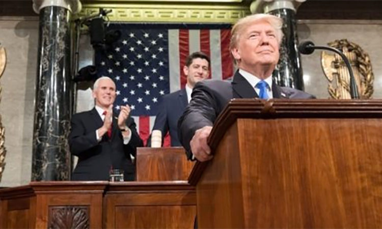 President Trump Delivers the 2018 State of the Union Address