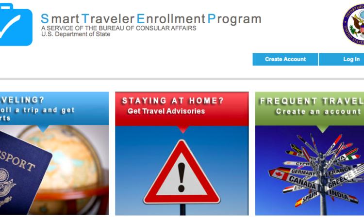 STEP: Smart Traveler Enrollment Program