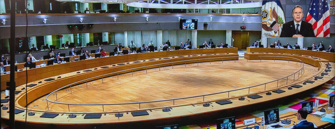 Secretary Blinken's Participation in the EU Foreign Affairs Council