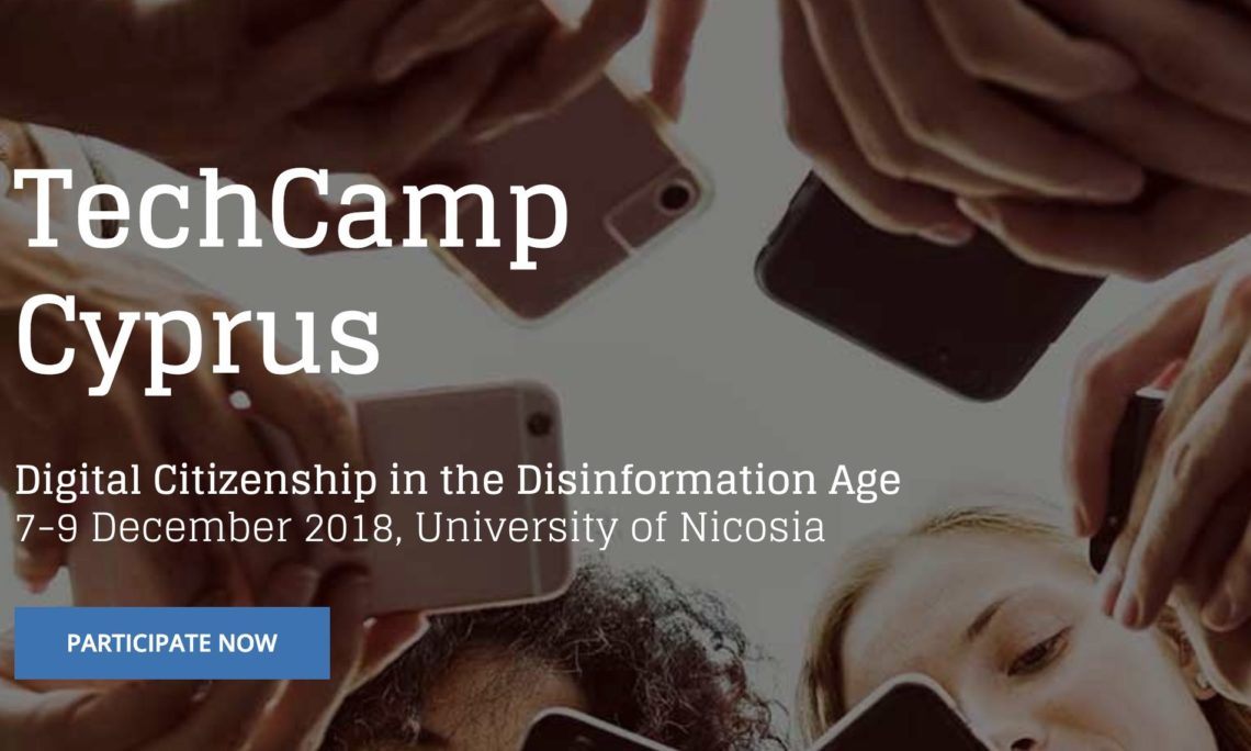 TechCamp Cyprus, December 7-9, 2018