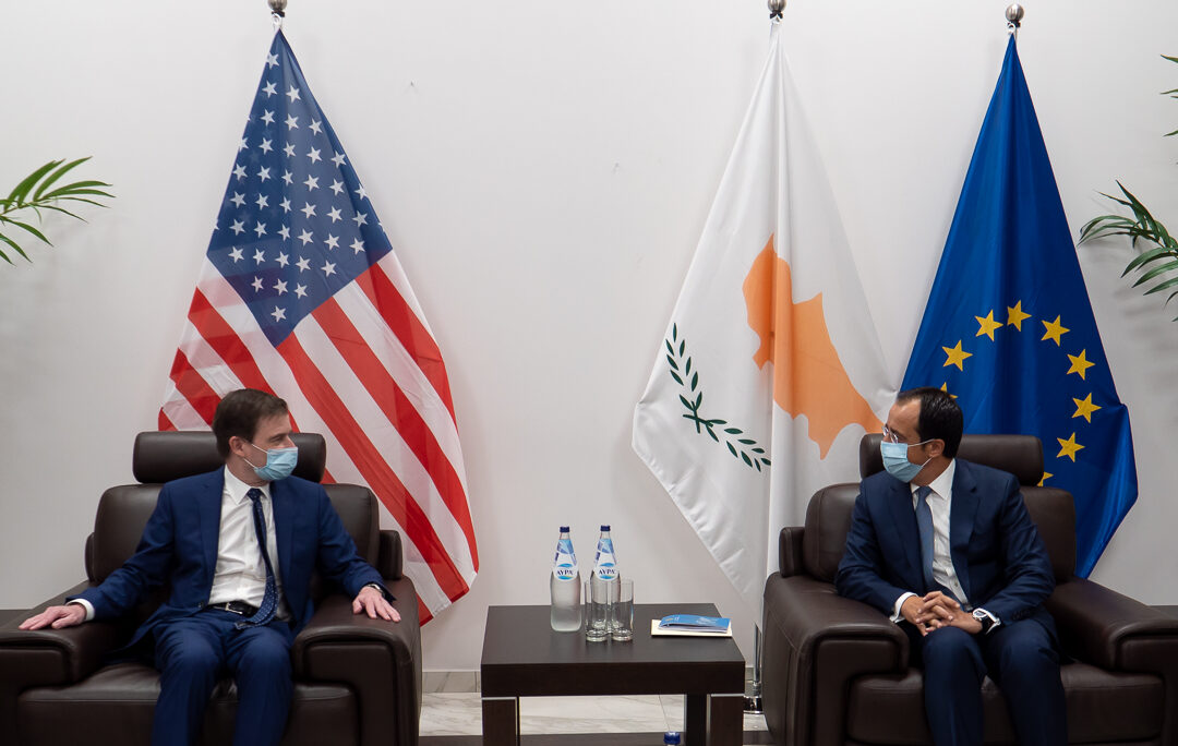 Under Secretary of State for Political Affairs David Hale met Republic of Cyprus Minister of Foreign Affairs Nikos Christodoulides