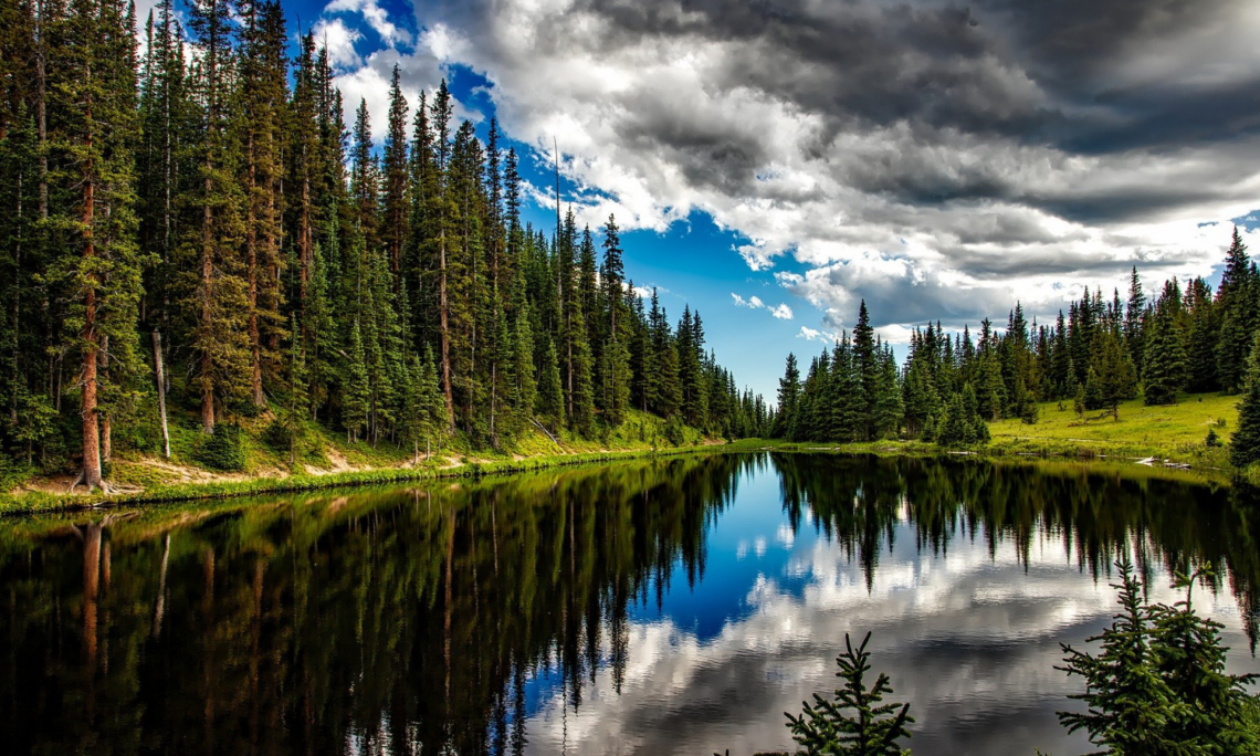 Photo of Crystal Mountain Lake by Janice Fedak