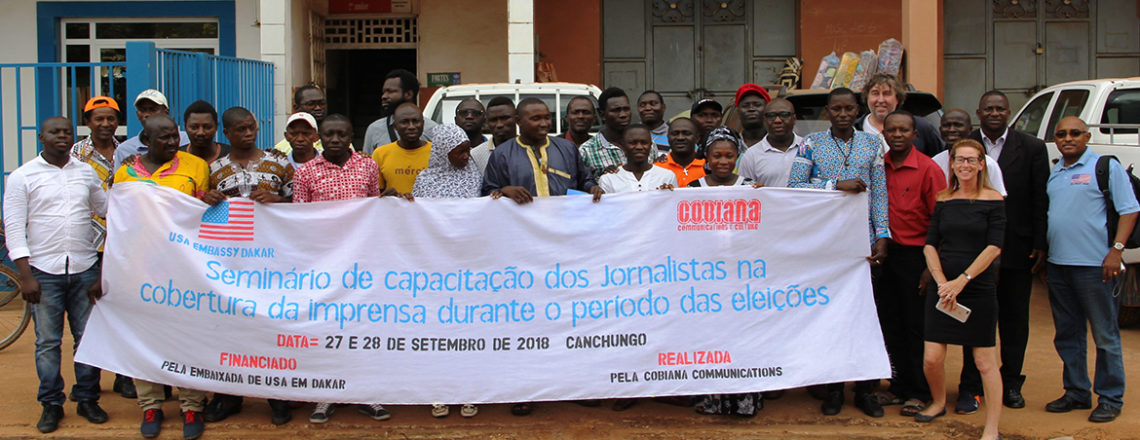 U.S. Embassy Trains Local Journalists in the Cities of Bafata and Canchungo