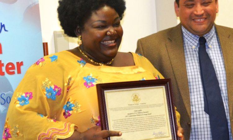 Femme de courage du Cameroun
