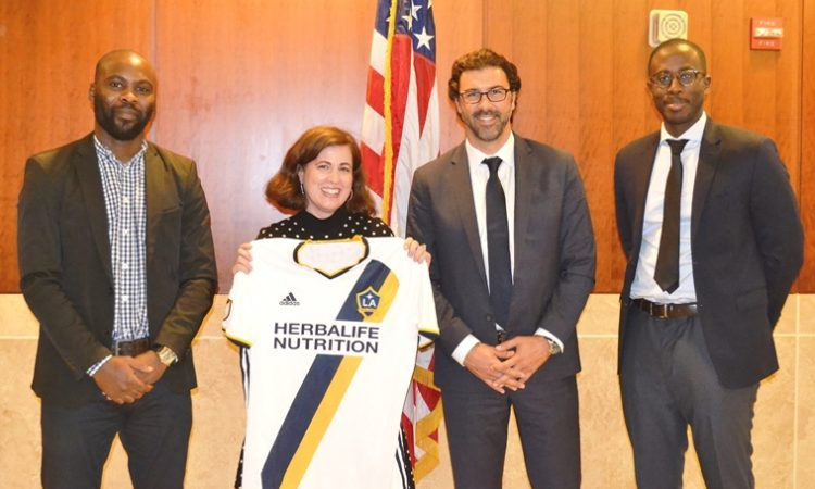 Kadji Sport Academy invites LA Galaxy to Cameroon