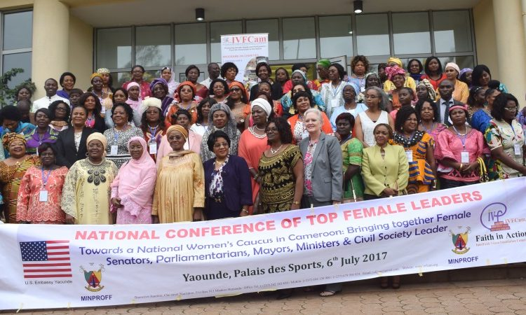 Group Photo: The United States Partners with Cameroon for Women's Empowerment