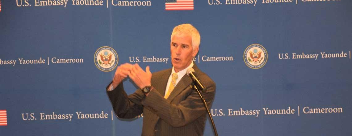 Ambassador Peter Barlerin's Remarks