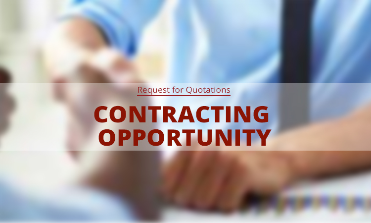 Contracting Opportunity