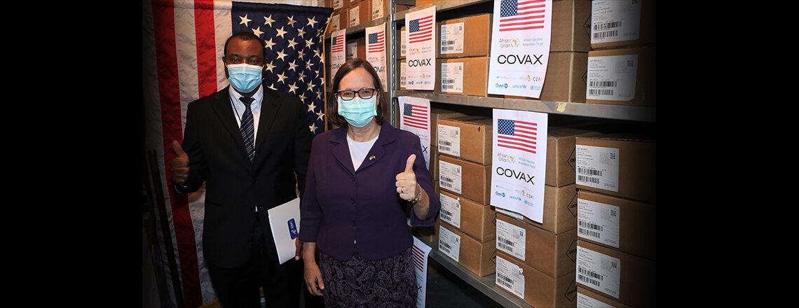 The U.S. Donates 303,050Doses of Johnson & Johnson COVID-19 Vaccine to Cameroon