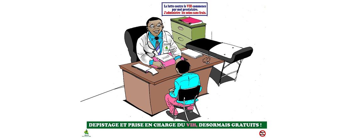 COMMUNIQUE DE PRESSE: Les Etats-Unis triplent leur aide VIH-SIDA au Cameroun