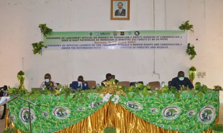 Official Launch of the Human Rights and Conservation Curriculum at Garoua Wildlife College