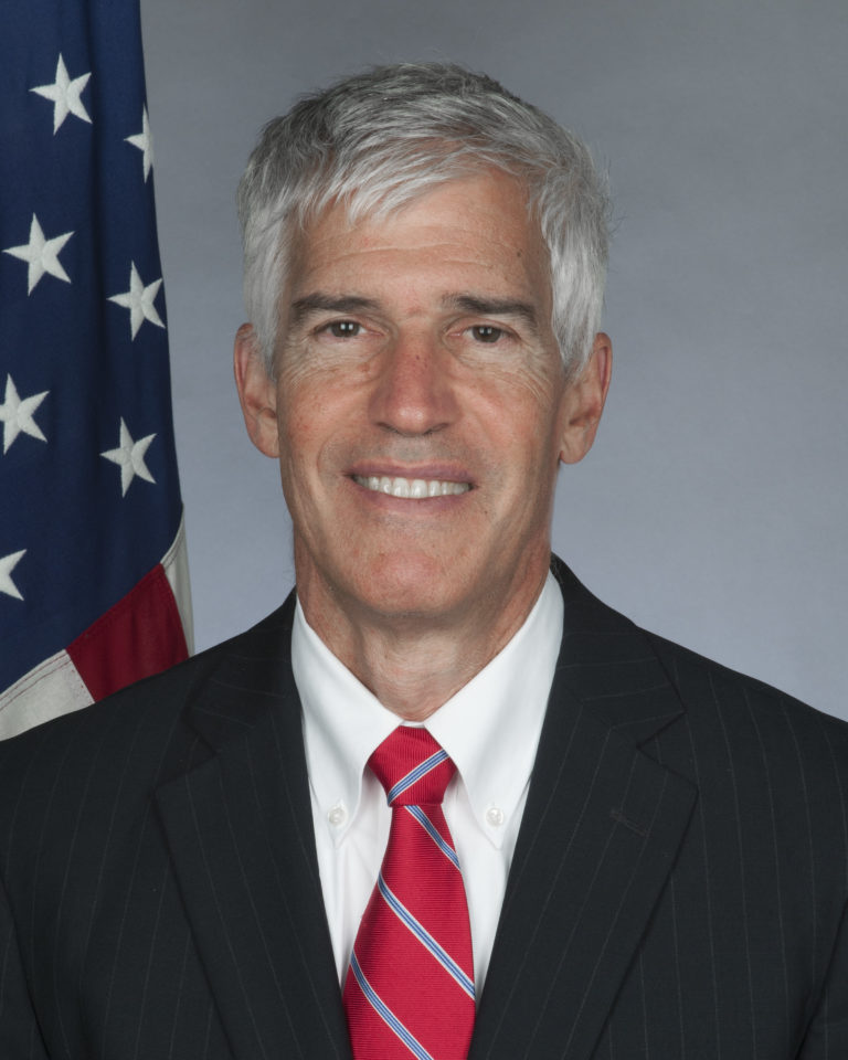 Photo of Ambassador Peter Henry Barlerin