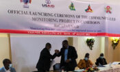 Launching of the Community Led Monitoring Project for HIV/AIDS.
