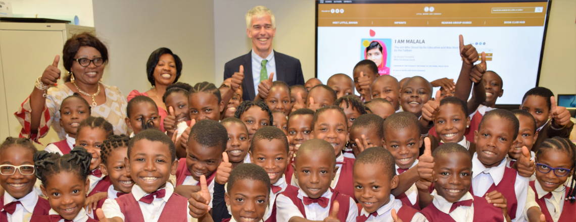 Women History Month: Ambassador Barlerin Encourages Young Girls to Educate themselves