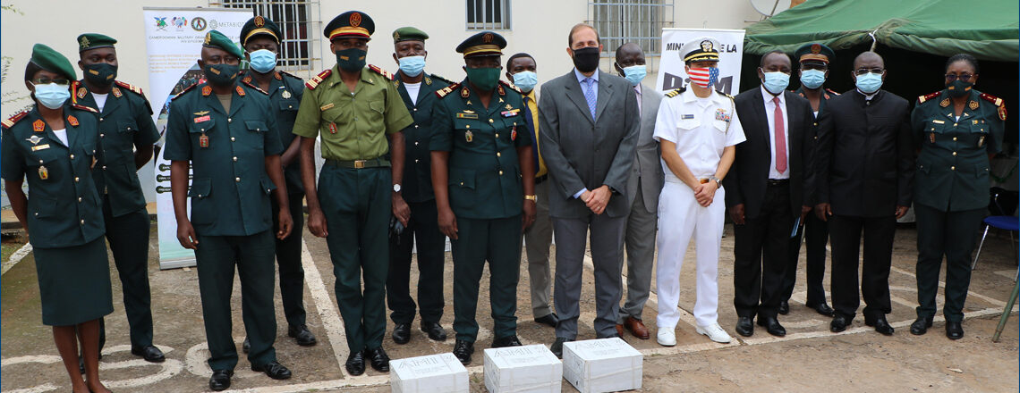 Remarks for the Donation of Materials under the Department of Defense HIV/AIDS Prevention